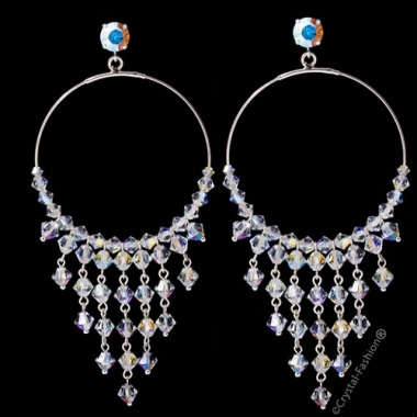Simple Round Gipsy Earrings 9,5cm