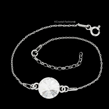 Silver Rivoli r 10 gl Bracelet