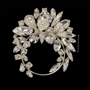 Andaluza Brooch Clear-CometArgentLt