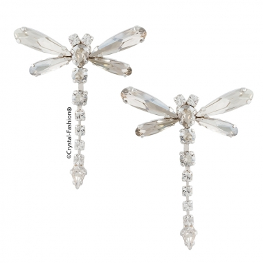Damselfly Earrings 4cm