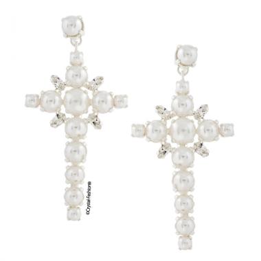 Pearly Cross 6,1cm