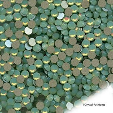 Xilion Rose fb ss12 (3mm) ChrysoliteOpal HotFix
