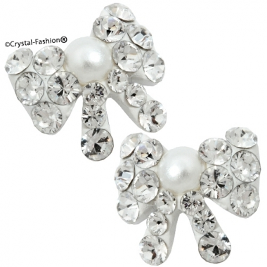 Crystals for nails: Pearl Bow Tie U16 (8mm)