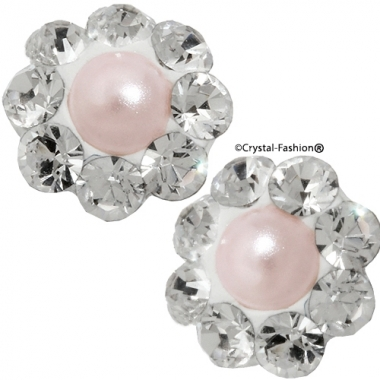 Crystals for nails: Small Pearl Flower U18 (6mm)