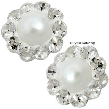 Crystals for nails: Big Pearl Flower U14 (7mm)