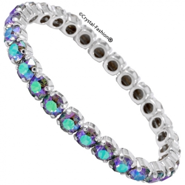 Chaton Elastic Bracelet (ss29/6mm)
