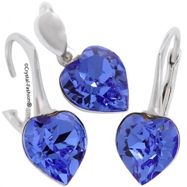 Heart f 8/8 gl D-Lvbck Sapphire