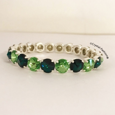 Elastic Rivoli r 8 so Emerald-Peridot