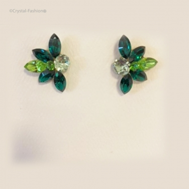 Lotus 2,5cm s Chrysolite-Emerald-Peridot