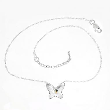 Skin Chain Butterfly 12mm