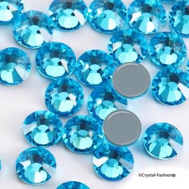 Xilion Rose fb ss30 (6,3mm) Aquamarine HotFix