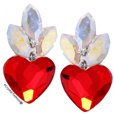 Crystals for nails: Heart-Navette U11 (11mm)