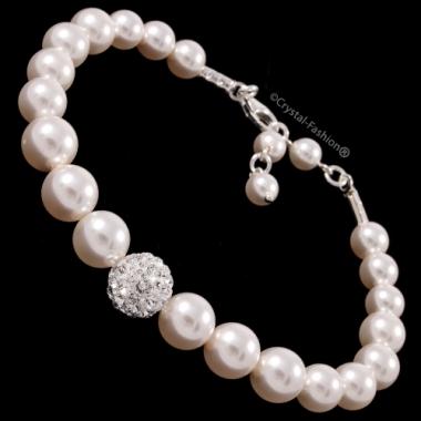 Winter Pearl Bracelet
