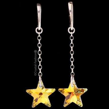 Chain Star 20 Earrings HamPin