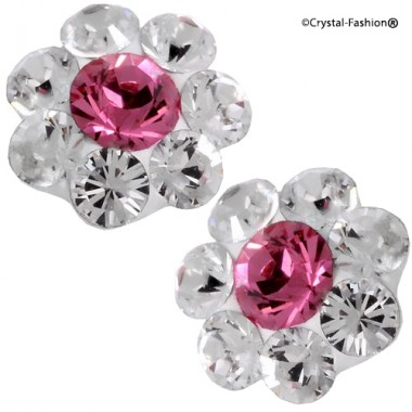 Crystals for nails: Flower U07 (6mm)