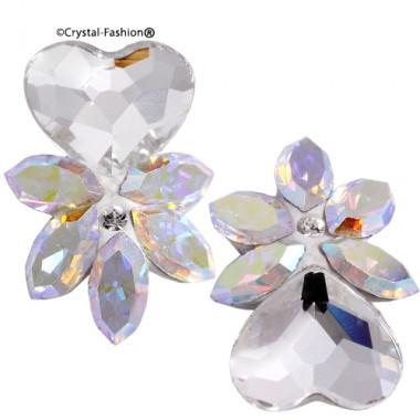 Crystals for nails: Navette Heart U01 (11mm)