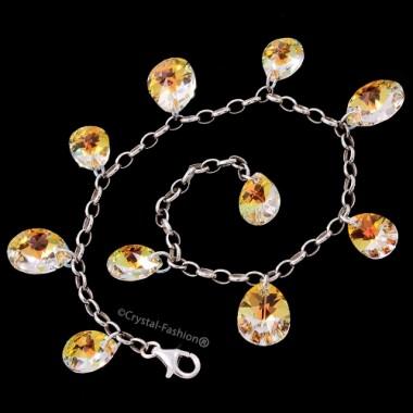 Mini Pear 10-12 Bracelet