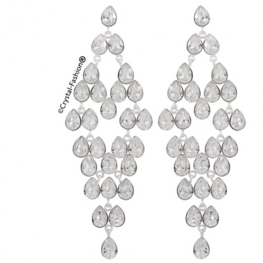 Multi Pear 8 Chandelier 10cm