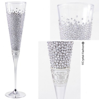 Crystaldressed Champagne Cup