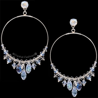 Round Briolette Earrings 6,2cm