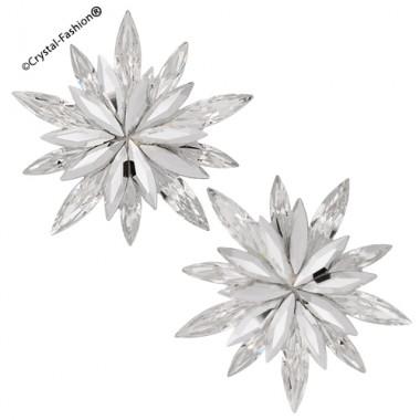 "Star Glitter ""1"" 3,4cm Clp-Pin"