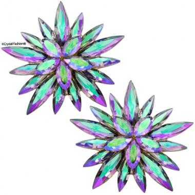 "Star Glitter ""2"" 3,4cm Clp-Pin"