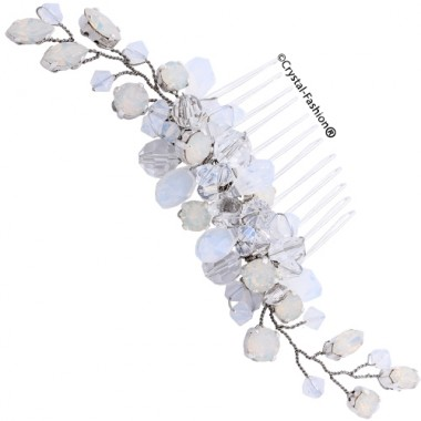 White Opal Hair Accessory 12,5cm