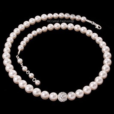 Winter Pearl Necklace