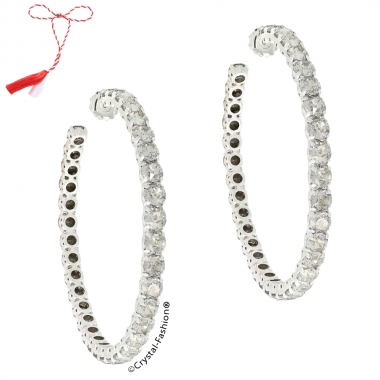 Large Vertical  Earrings 8,3cm s