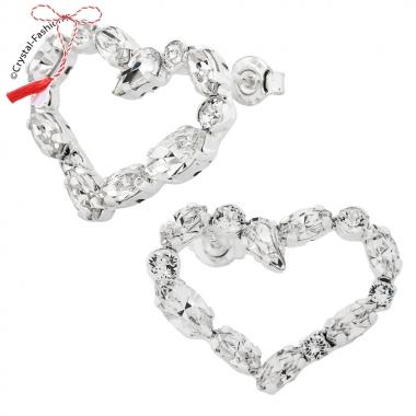 Heart In Love Earrings 2,5cm