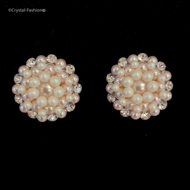 Alma 2,6cm Clp-Pin Clear-RosalinePearl-Pearlescent