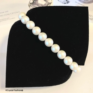 Elastic Pearls 8mm Pearlescent