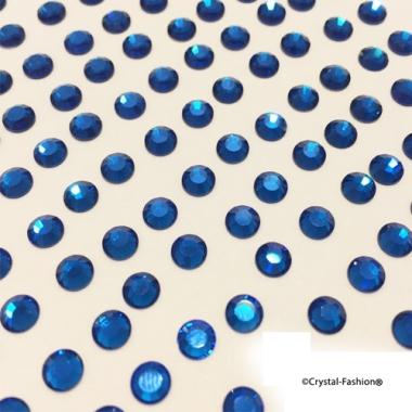 Xilion Rose fb ss12 (3mm) CapriBlue HotFix