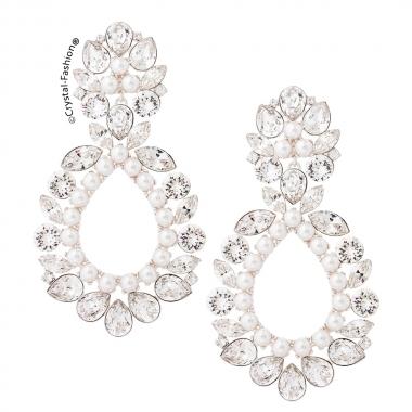 Zara 7,2cm s Clear-WhitePearl