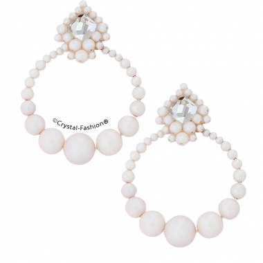 Round pearl space 6,4cm s