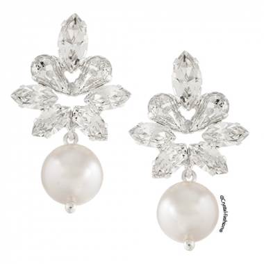 Bloj Pearl Earrings 3cm s