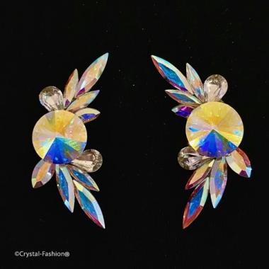 Peafowl 4,4cm Clp-Pin Clear-AuroreBoreale