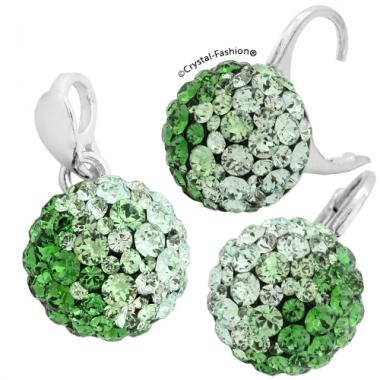 Chaton Ball 10/10 Lvbck Chrysolite-Peridot-FernGreen