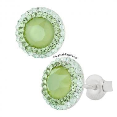 Chaton England Queen 10 fl s Chrysol-Peridot+Lime