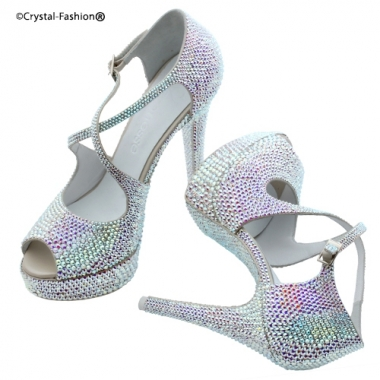 Crystallized Sandals