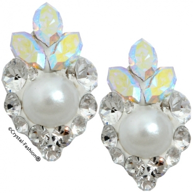 Crystals for nails: Pearl-Navette U15 (12mm)