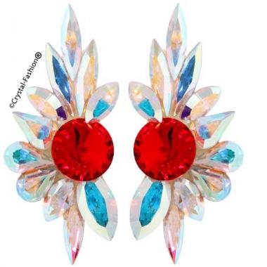Elegant Ballroom Dance Earrings 5cm