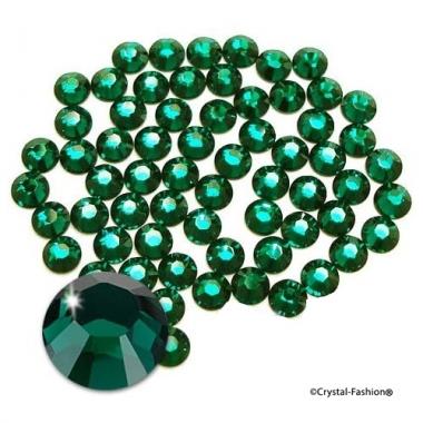 Xilion Rose fb ss8 (2,4mm) Emerald HotFix