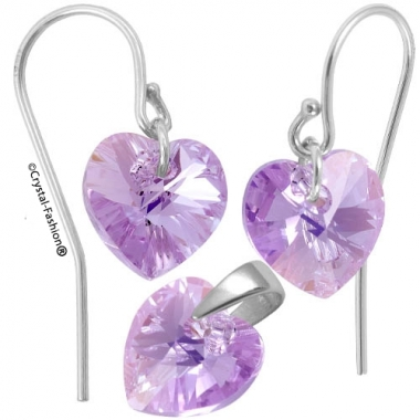 Heart p 10/10 Wire bumb VioletAb