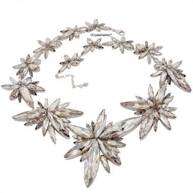 Large Star Burst Necklace