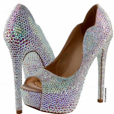 Crystallized Loredana Shoes