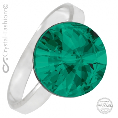 Rivoli r 12 gl Emerald Ø18,1mm