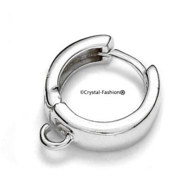 Round Hoop Earring