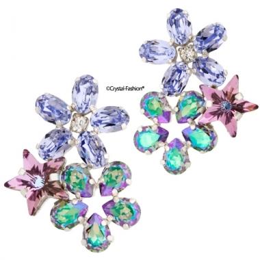 Small Flowerize 2,5cm ProvLav-VitrailLight-ParadiseShine