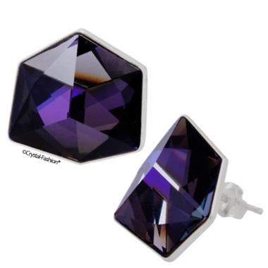 Tilted Dice f 19 gl s Purple Velvet-CAL